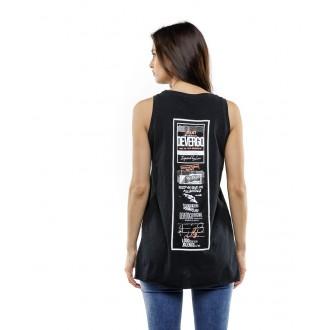 Devergo dámské triko 455 - Černá