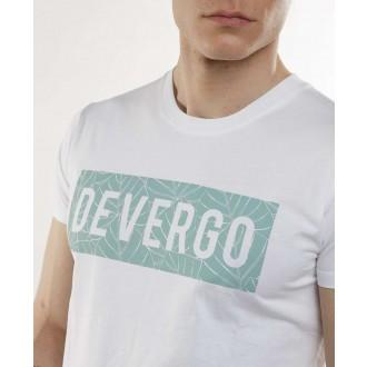 Devergo pánské triko 105 - Bílá