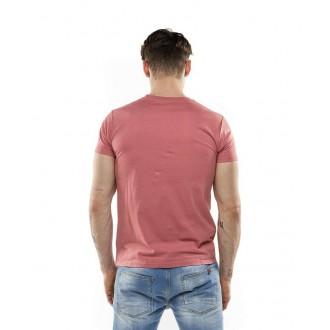 Devergo pánské triko 105 - Bordová