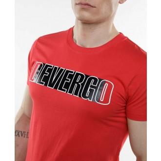 Devergo pánské triko Hot - Červená