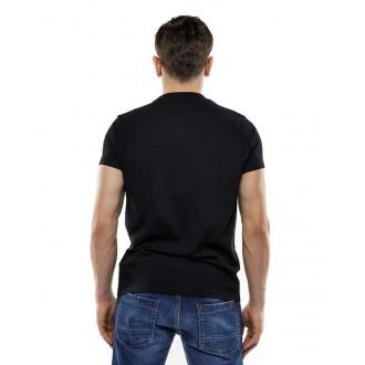 Devergo pánské triko DVRG - Černá