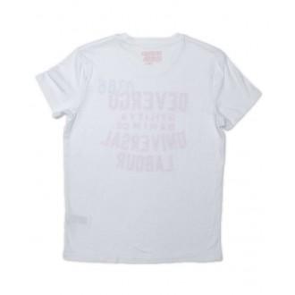 Devergo pánské triko 0386 - Bílá