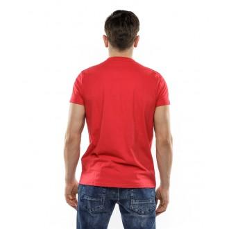 Devergo pánské triko 401 - Červená