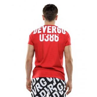 Devergo pánské triko 402 - Červená