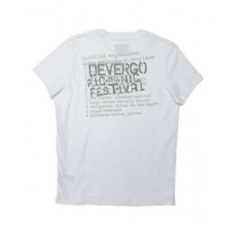 Devergo pánské triko 806 - Bílá