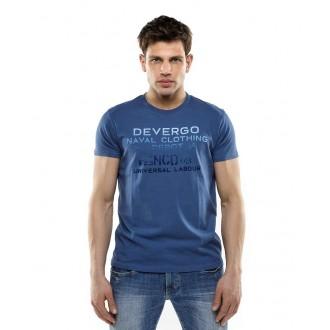 Devergo pánské triko Naval - Námořnická modrá