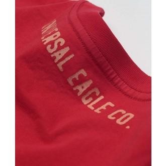 Devergo pánské triko Sanforized - Červená