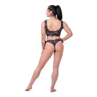 NEBBIA Bralette Bikini Active Black 554 - Černá