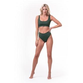 NEBBIA Bralette Miami sporty bikini 554 - Zelena