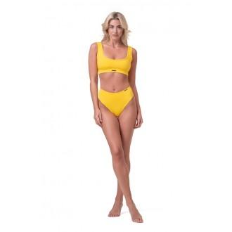 NEBBIA Bralette Miami sporty bikini 554 - Žlutá