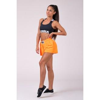 Nebbia dámské šortky 519 - Neon oranžová