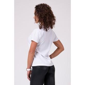 Nebbia Dámské triko 592 - Bílé