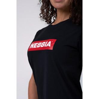 NEBBIA Dámské triko 592 - Černé