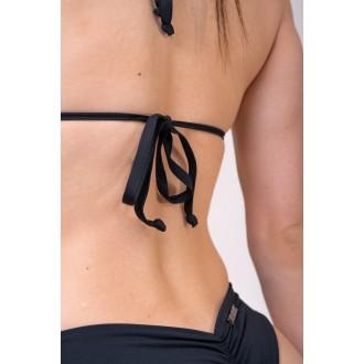 NEBBIA Dámsky Bikini Top Triangle 631 Vrchní díl - Černé