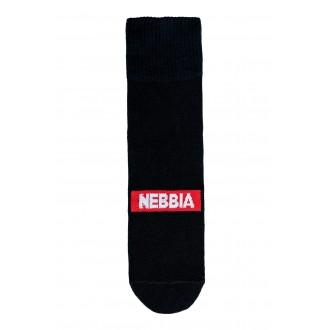 Nebbia EXTRA MILE crew ponožky - Černé