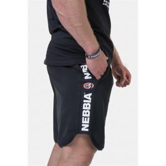 Nebbia Legend-approved šortky 195 - Černé