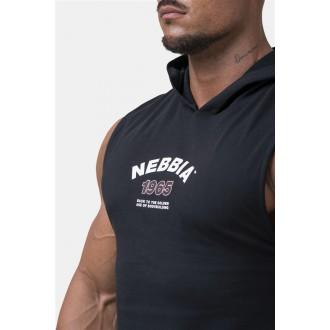 Nebbia Legend-approved tílko s kapucí 191 - Černé