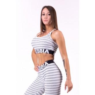 Nebbia mini top Boho Style 3D pattern 659