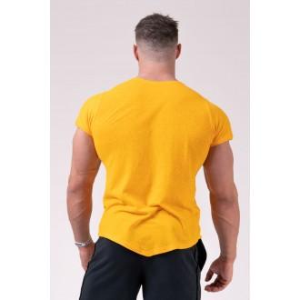 Nebbia pánskéMuscle Back Tričko 172 - žlutá
