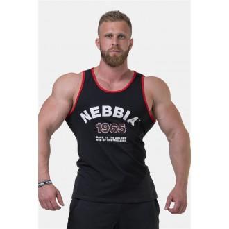 Nebbia Old-school Muscle tílko 193 - Černá