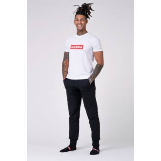 Nebbia Pánské triko 593 - Bílé