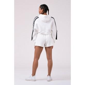 Nebbia Rebel Hero boxerské šortky 521 - Bílá