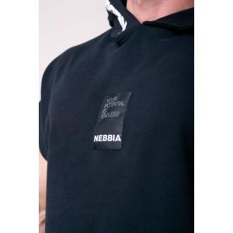 Nebbia Reg top s kapucí 175 - Černá