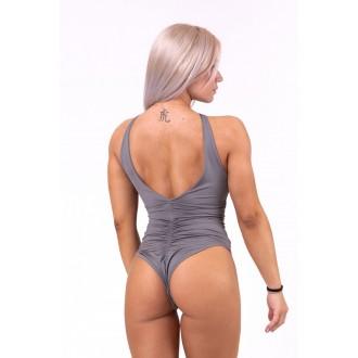 Nebbia Sexy monokiny s rafinovaným výstřihem 675 - Metalová