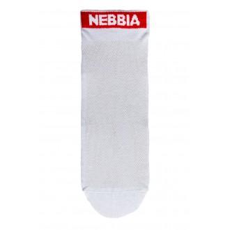 Nebbia SMASH IT kotníkové ponožky - Bílé