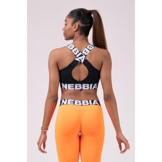 Nebbia sportovní podprsenka 535 - Černá