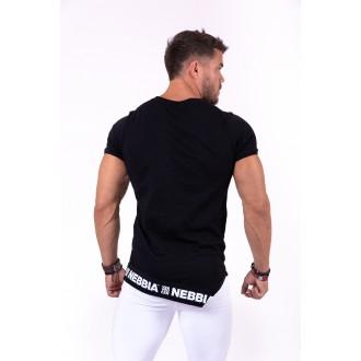 Nebbia tričko s krátkym rukávom Be rebel 140 - Černé