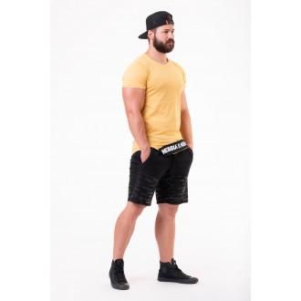 Nebbia tričko s krátkym rukávem Be rebel 140 - Hořčicová barva