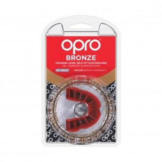 Opro Bronze Chránič zubů - Červený