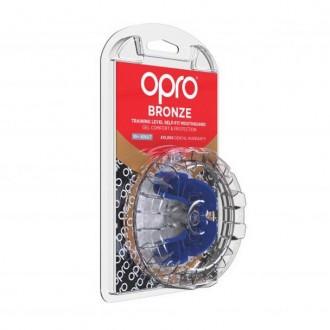 Opro Bronze Chránič zubů - Modrý