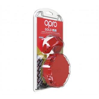 Opro Gold Braces Chránič zubů - Červeny