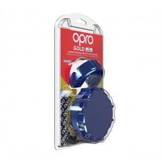 Opro Gold Braces Chránič zubů - Modrý