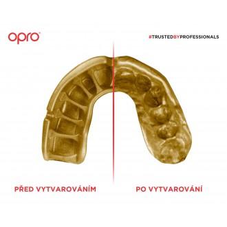 Opro POWER FIT chránič zubů - Česká trikolóra