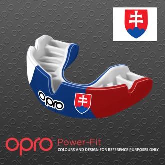 Opro POWER FIT chránič zubů - Slovenská trikolóra