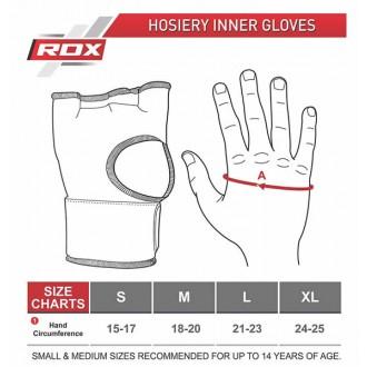 RDX Boxerské Gélové bandáže - Černé