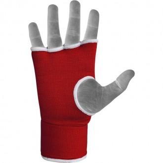 RDX Boxerské Gélové bandáže - Červené