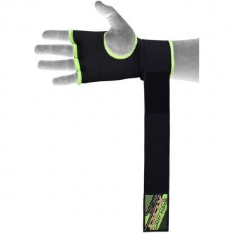 RDX Boxerské Gélové bandáže Zelené