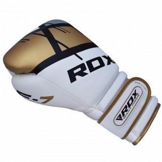 RDX Boxerské Rukavice F7 Ego - Zlaté