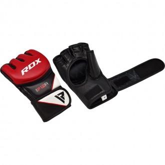 RDX F12 MMA Rukavice - Červené