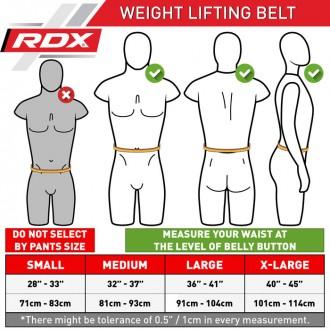 RDX fitness opasek Curved