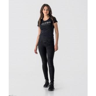 Retrojeans dámské triko Gena - Černá