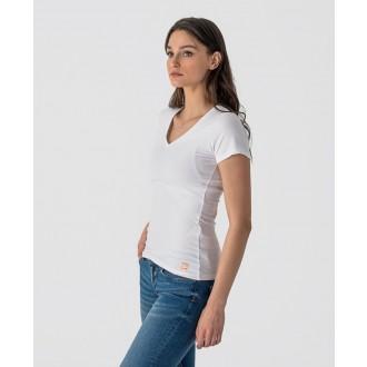 Retrojeans dámské triko HELMI - Bílá
