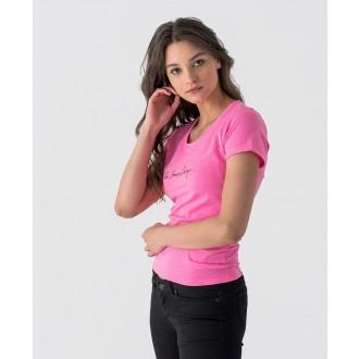 Retrojeans dámské triko Romina - Růžová