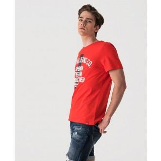 Retrojeans pánské triko HOUSTON - Červená