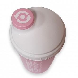 Scitec Nutrition šejker 700ml - Růžový