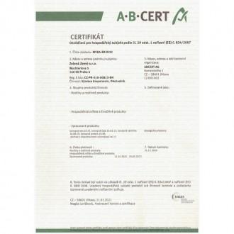 Zelená Země CBD kokosový olej - 170ml